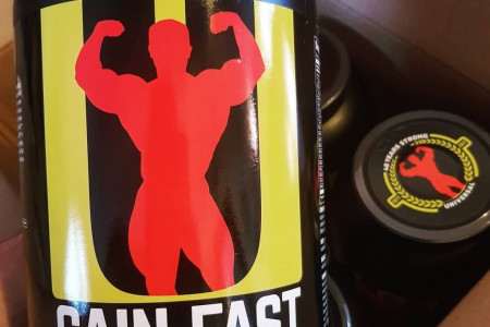 NEW Gain Fast 3100 from Universal Nutrition Infographic