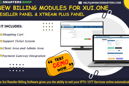 NEW IPTV BIllING MODULES FOR XUI.ONE RESELLER PANEL & XTREAM PLUS PANEL  Infographic