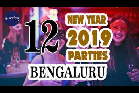 New Year 2019 Celebration In Bengaluru - IndiaVisitOnline Infographic