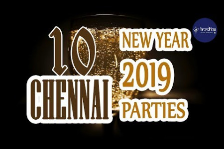 New Year 2019 Celebration In Chennai - IndiaVisitOnline Infographic