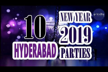 New Year 2019 Celebration In Hyderabad - IndiaVisitOnline Infographic