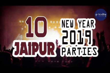 New Year 2019 Celebration In Jaipur - IndiaVisitOnline Infographic