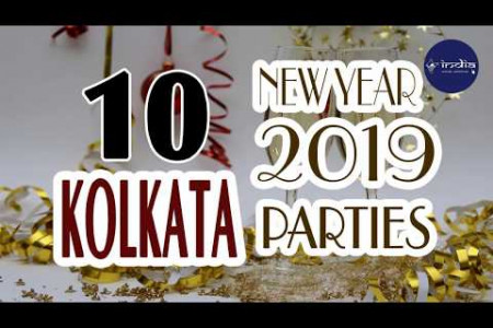 New Year 2019 Celebration In Kolkata - IndiaVisitOnline Infographic
