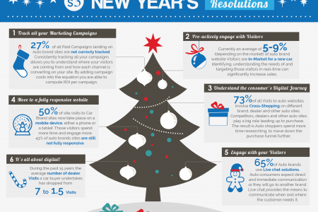 New Year's Resolutions ideas Infographic