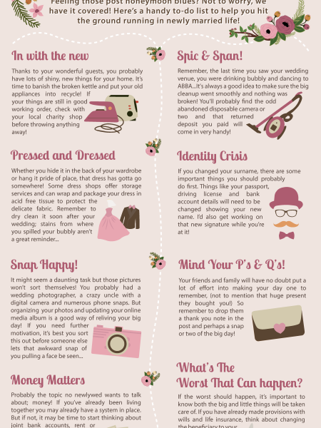Newlywed To-Dos Infographic