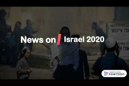 News on Israel 2020 Infographic