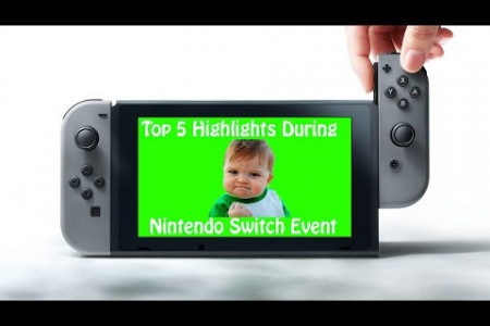 Nintendo Switch Presentation Event 2017 - Mini Pre Discussion Infographic