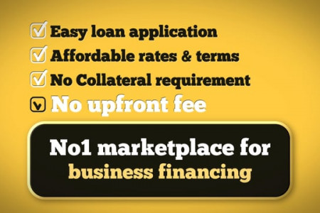 No.1 Online Marketplace For Small Business Financing Infographic