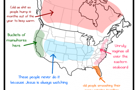 North America Sexytime Infographic