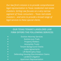 North Richland Hills Texas Tenants Lawyers