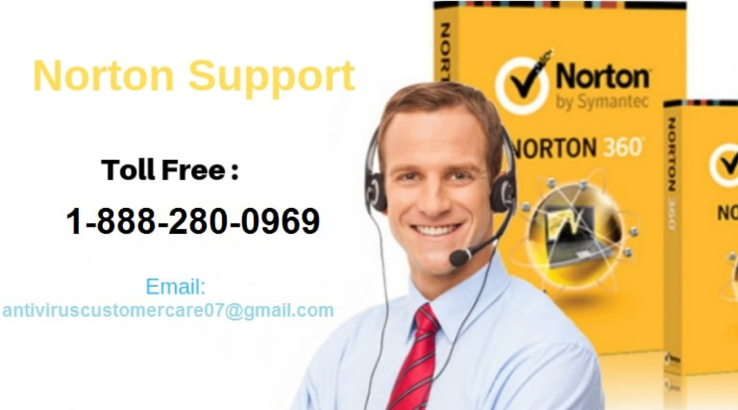 Norton Antivirus Customer Support Number Infographic