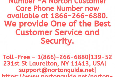 Norton Antivirus Support Phone Number Infographic