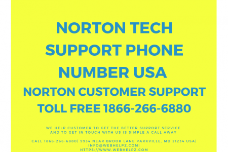 Norton Tech Support Phone Number USA. Infographic