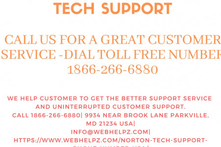 Norton Phone Number Tech Support Infographic