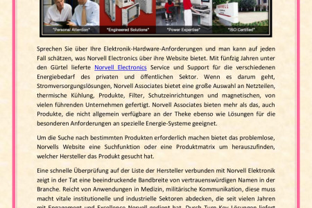 Norvell Group and Associates: Ihre Hardwareanforderungen Erfüllt Online Infographic