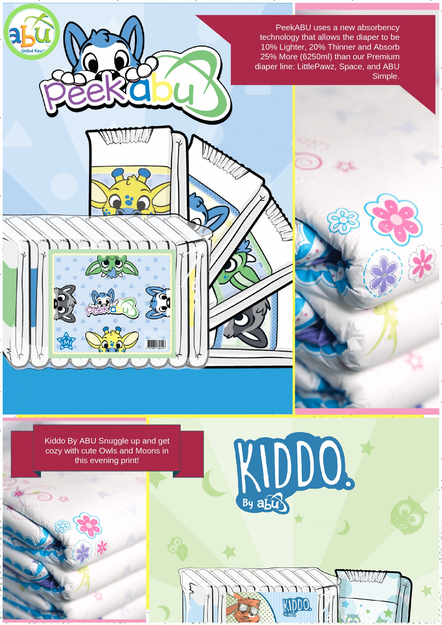 Now Buy Affordable ABDL Disposable Diapers Online Infographic