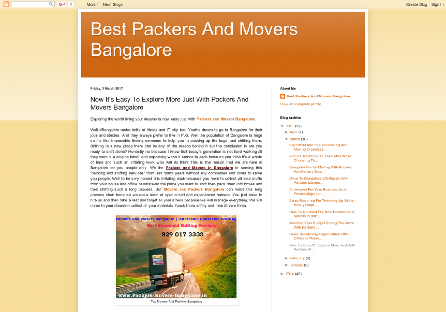 Now It's Easy To Explore More Just With Packers And Movers Bangalore Infographic