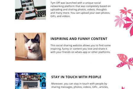 Now you can explore inspiring content from the world Infographic