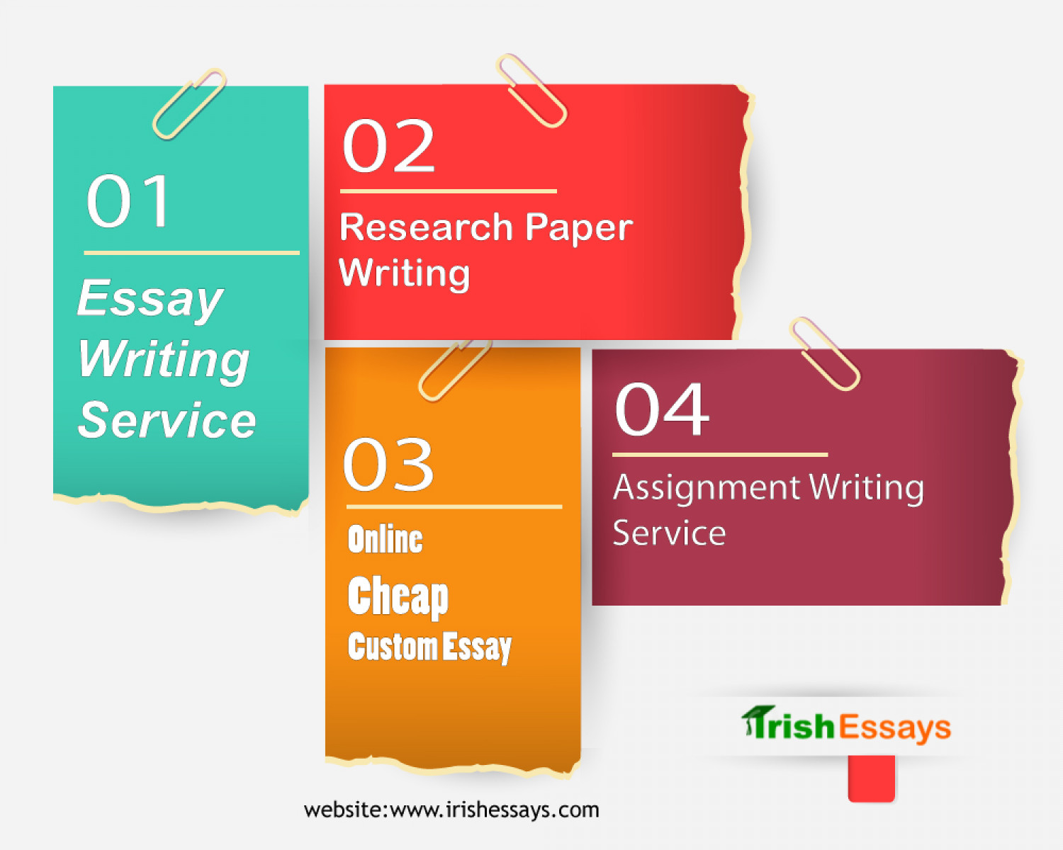 Now you can pay online for professional essay writing | Visual.ly