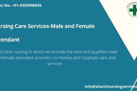 Nursing Care Services-Male and Female Attendant-converted Infographic