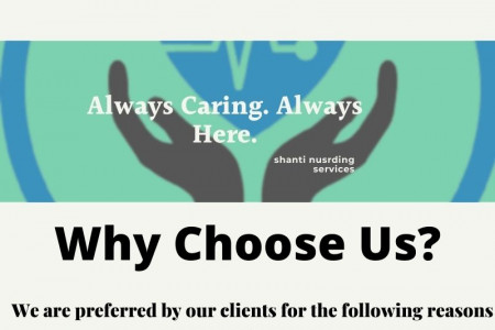 Nursing Services Care In Gurgaon With The Shanti  nursing services Infographic