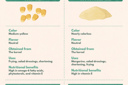 Nut, Seed, and Flower Oils: Which Cooking Oil to Use When Infographic