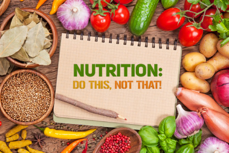 Nutrition: Do This, Not That! Infographic