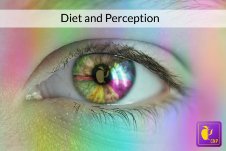 Nutritional Psychology Influences of Diet on Perception Infographic