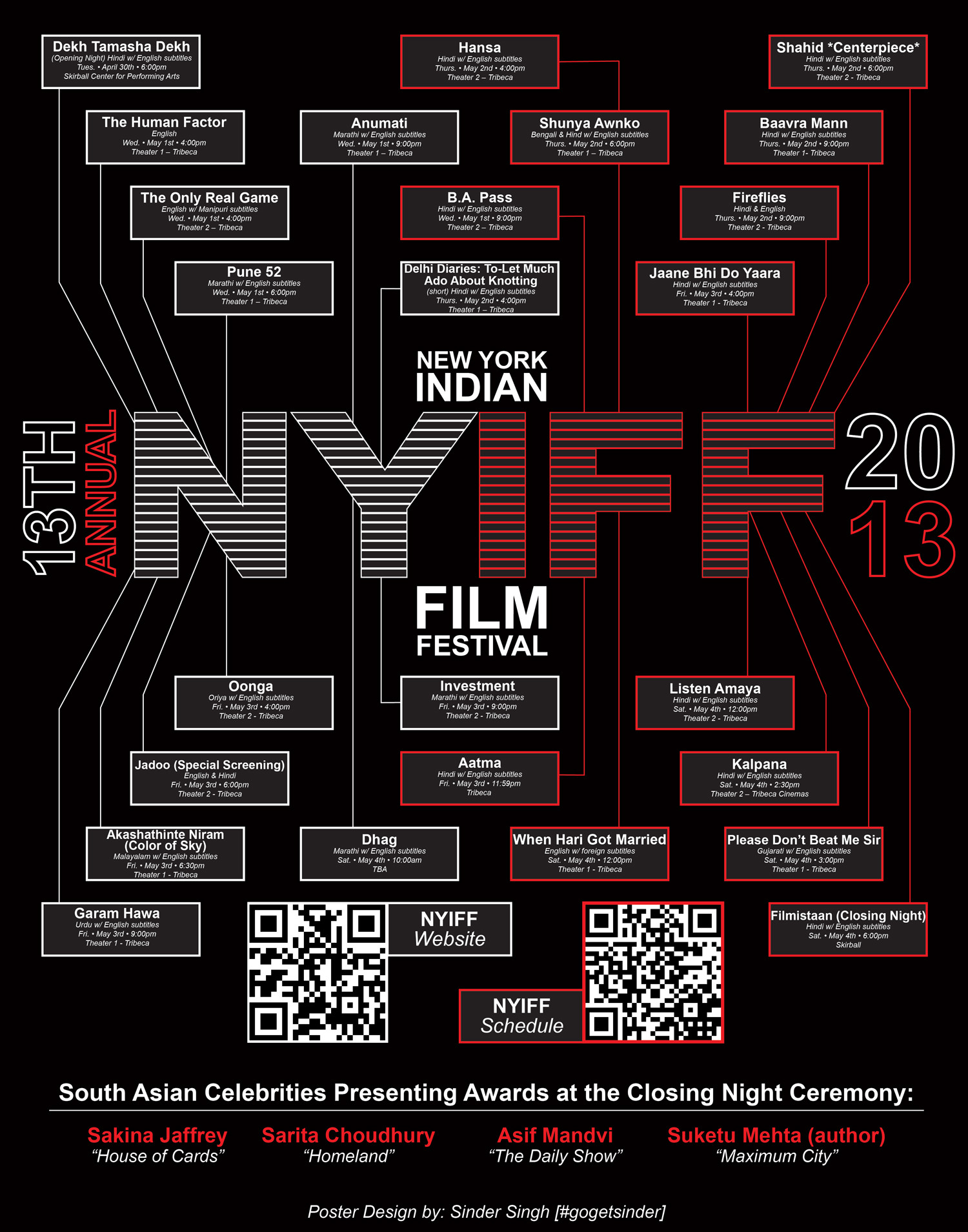 NYIFF Poster Infographic