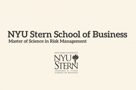 NYU - Master of Science in Risk Management Infographic