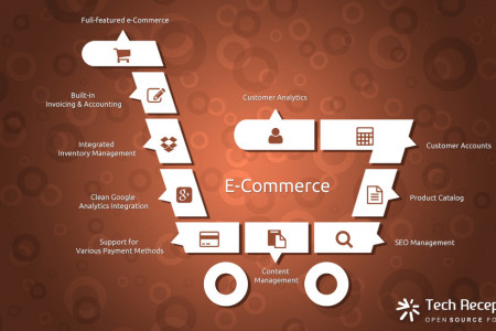 Odoo ERP ECommerce System Solution Infographic - Tech REceptives  Infographic