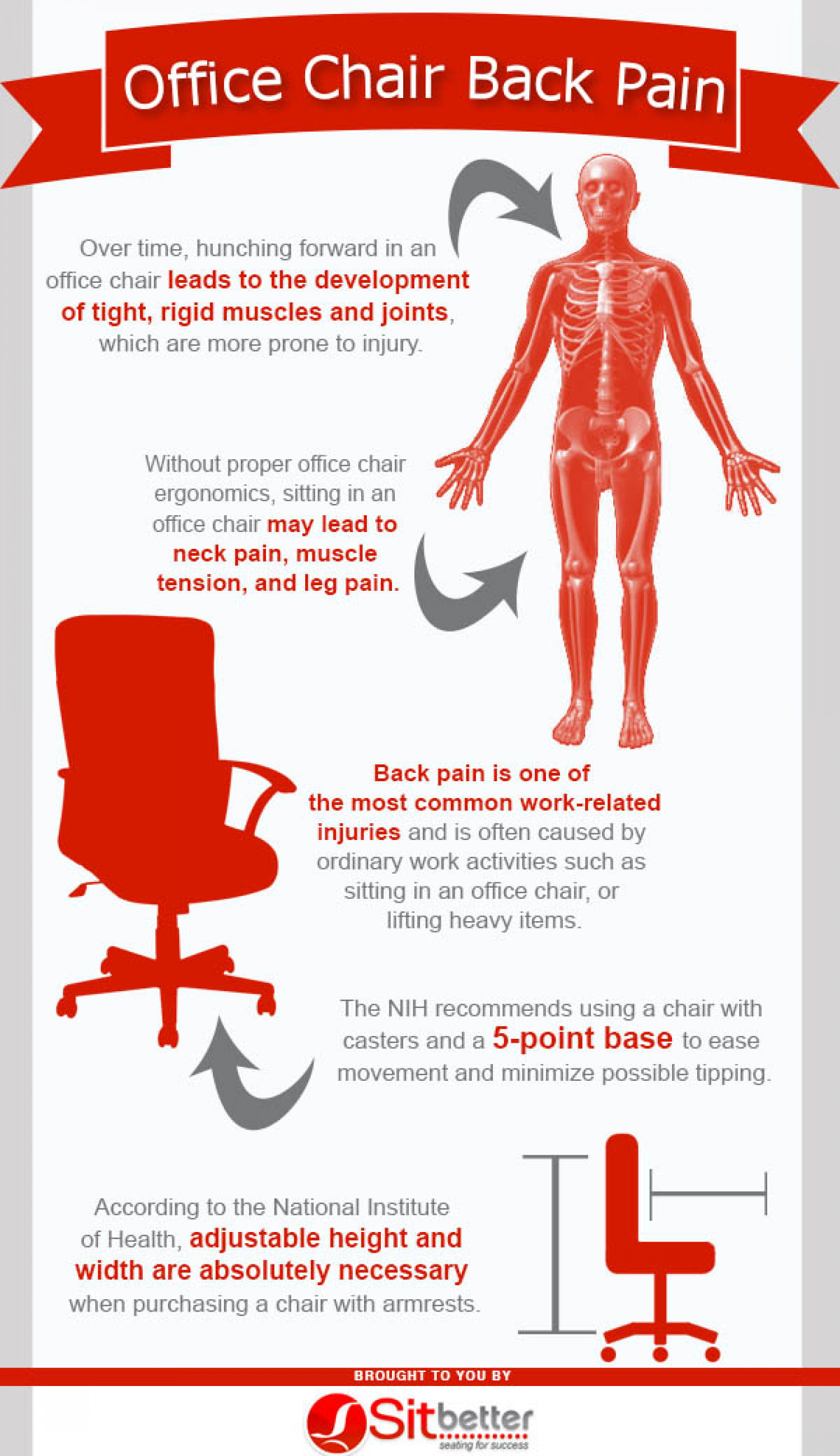 fice Chair Back Pain