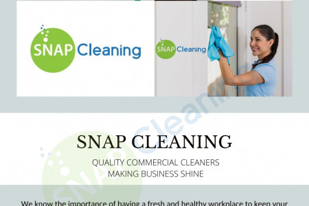 Office Cleaning Services Auckland - Snap Cleaning Infographic