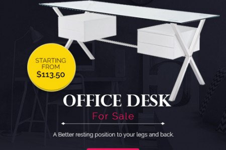 Office Desk for Sale - Enhance the Looks of Your Modern Office  Infographic