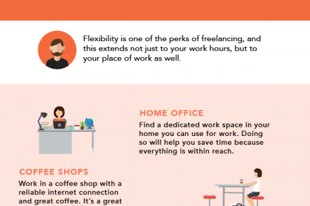 Office Options for Freelancers Infographic
