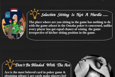 Omaha Poker Tips and Tricks Infographic