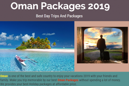 Oman Packages 2019 - Best Day Trips And Packages Infographic