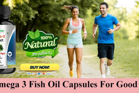Omega 3 Fish Oil Capsules For Healthy Body And Mind  Infographic