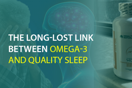Omega 3 Fish Oil Supplement For Quality Sleep Infographic