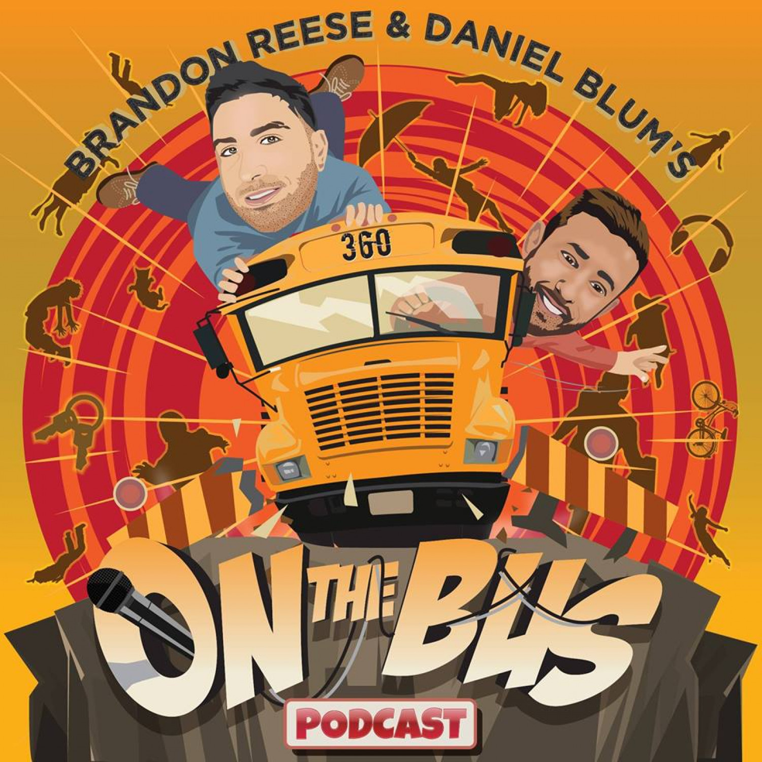 On The Bus Podcast Infographic