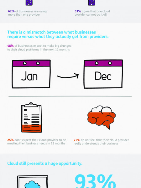One Cloud Provider Does Not Fit All Infographic