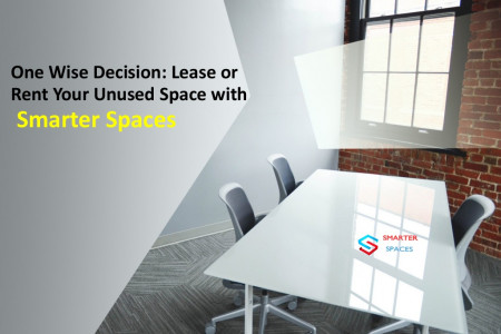 One Wise Decision: Lease or Rent Your Unused Space with Smarter Spaces  Infographic