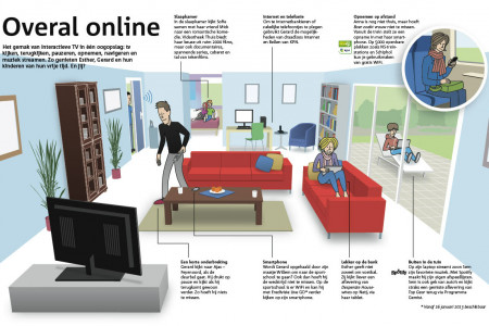 Online anywhere Infographic