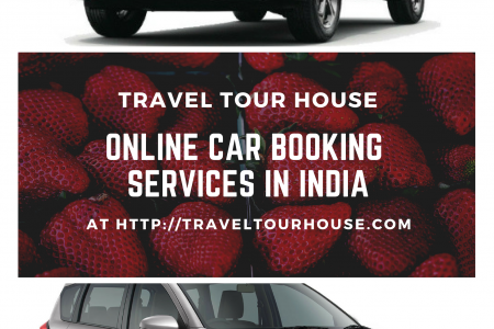 Online Car Booking Services in India Infographic