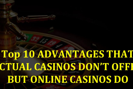 Online Casino or Actual Casino? That is the Question Infographic