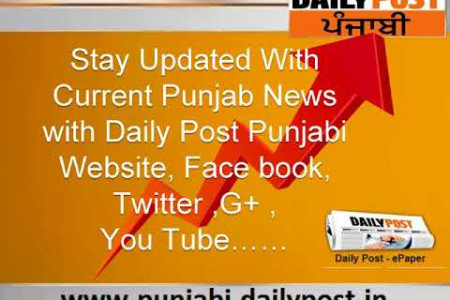 Online Current Punjab News in Punjabi Portal Infographic