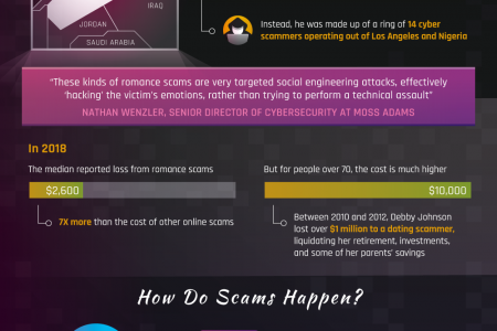 Online Dating & Cybersecurity Infographic