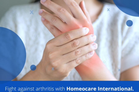 Online Homeopathy Treatment for Arthritis Infographic