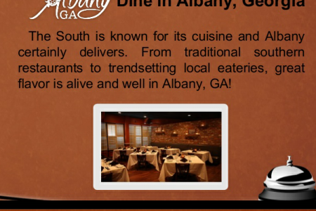 Online Information of Albany GA Hotels Infographic
