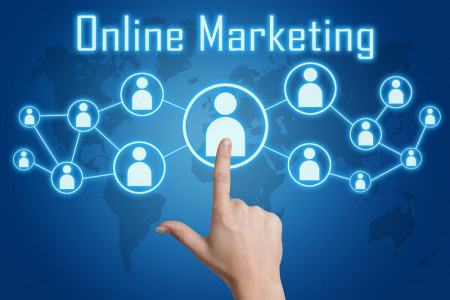 Online Marrketing Infographic